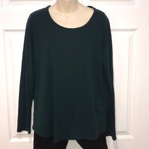 Loft Vintage Soft Long Sleeve Shirt 100% Cotton XL
